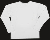 Plain White Long-Sleeve