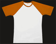 Raglan Orange T-Shirt