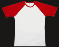 Raglan Red T-Shirt