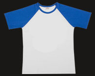 Raglan Royal Blue T-Shirt